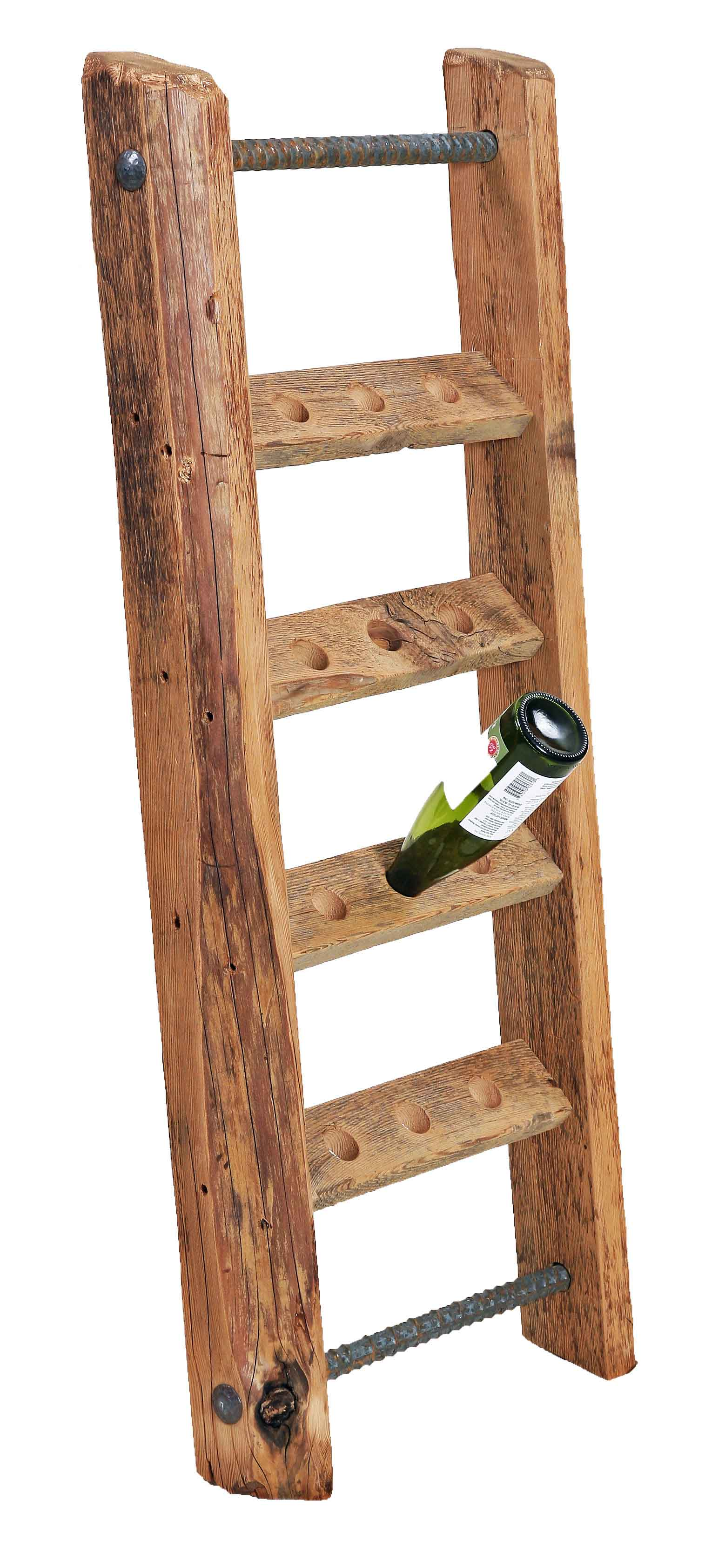 Wooden Ladder Wine Rack Plans PDF Plans